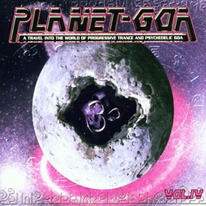 Cameleon Planet Goa 4 Compilation Cover